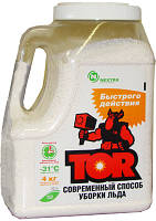 Антигололедные реагенты на зиму быстрого действия TOR