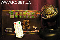 Cветодиодный стробоскоп c MP3-player LED Beam Moving Head Lighting