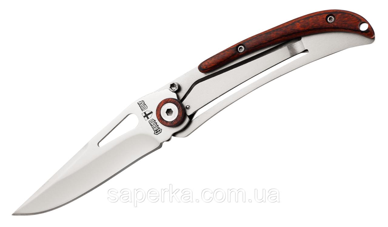 Нож компактный с отверстием для темляка Grand Way 2032