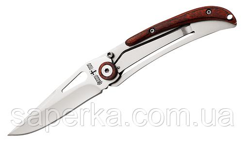 Нож компактный с отверстием для темляка Grand Way 2032, фото 2