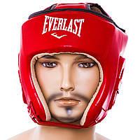 Шлем боксерский открытый Flex Everlast красный EVF450-R