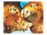 Прикольные настенные часы Любовь
