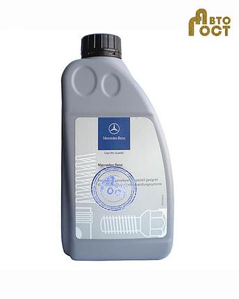 Жидкость гидроусилителя зеленая Mercedes-Benz МВ 345.0 1 л, фото 2