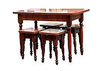 Обеденная группа с раскладным столом Мебель-Сервис