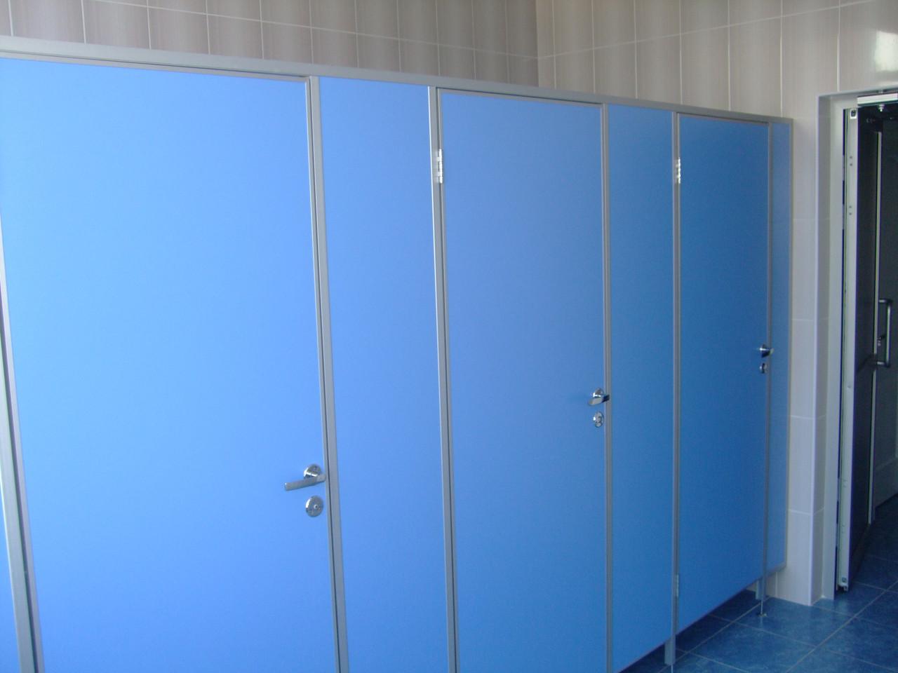 Туалетные и писсуарные перегородки из ДСП 25мм