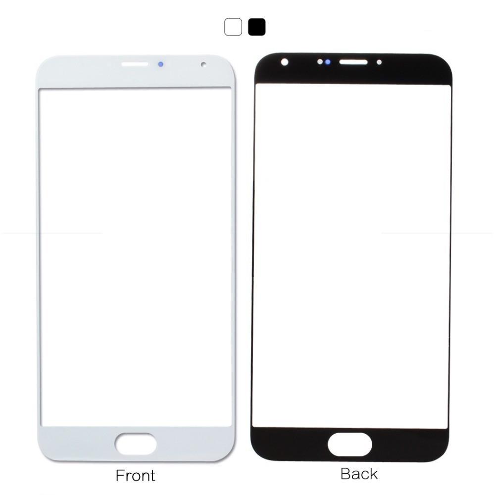 Стекло экрана Meizu MX5 (M575)/ MX5e белое