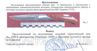 Нож многоцелевой с отверстием для темляка Grand Way 5299 K, фото 3