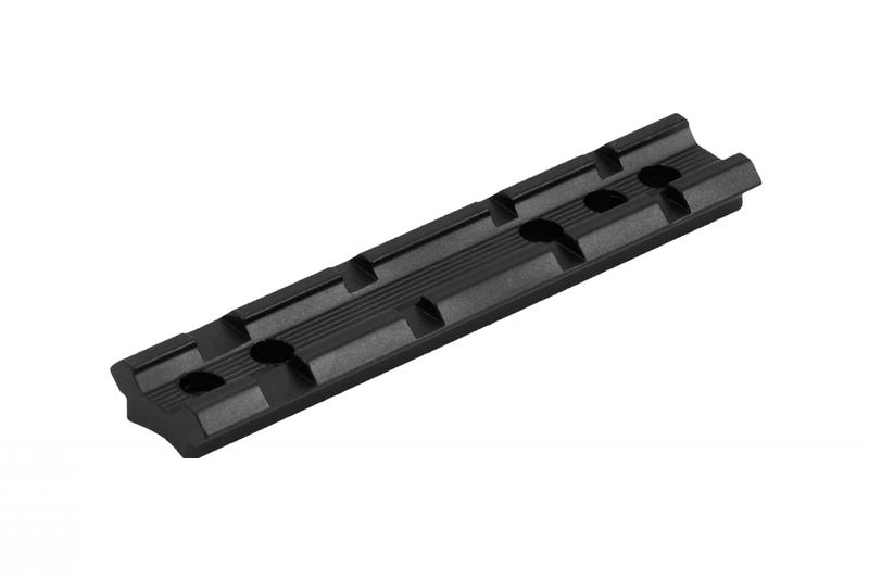 Планка Weaver довжина 100мм , кріплення на зброю, шестигранник в комплекті