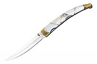 Нож подарочный стилизованный под наваху Grand Way 8016 BKA (BOX)