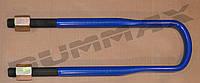 Стремянка рессоры с гайкой на M24X2x102x450 IVECO (8) 4203581319 - BUMMAX  - BMT00099 W/N