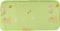 Матрас в детскую коляску Зима/лето 3-слойный (лен, кокосовая койра, овечья шерсть, 80х40) ТМ Руно 939. Ч