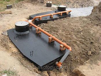 Септик для высоких грунтовых вод на 5-8 чел.