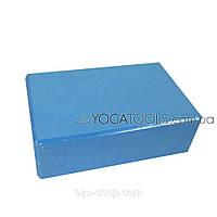 Кирпич для йоги синий