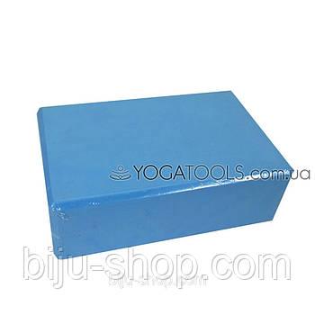 Цегла для йоги синій