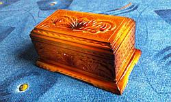 Шкатулка в резьбе, фото 2