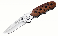 Крупный нож уникального дизайна с клинком из 420 стали Grand Way 00255