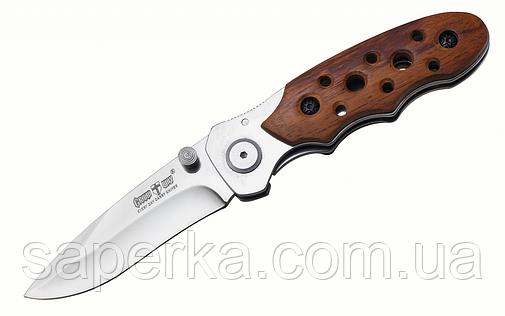 Крупный нож уникального дизайна с клинком из 420 стали Grand Way 00255, фото 2