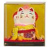 Манеки-неко «В жёлтом кимоно»