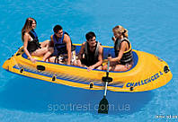 "Надувная лодка Интекс 68371 ""CHALLENGER "" на 4 - человека"