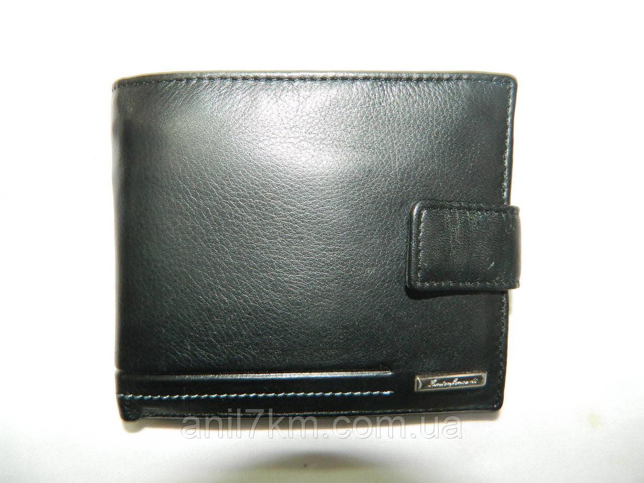 Мужской кожаный кошелёк-портмоне