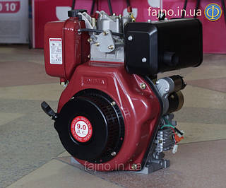 Двигатель дизельный Weima 186 FBЕ (9 л.с., шлицы,ел. стартер)