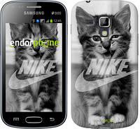 "Чехол на Samsung Galaxy S Duos s7562 Спортивный котик ""2715c-84"""