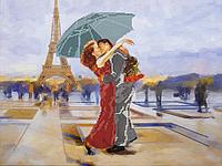 """Схема для вышивания бисером на подрамнике """"Танго в Париже"""""""