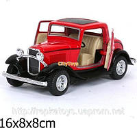 Kinsmart FORD 3-WINDOW COUPE 1932   (ОПТОМ) KT 5332 W