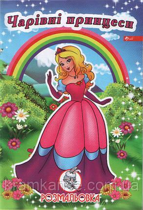 "Раскраска СКАТ УП-8 ""Чарівні принцеси"", фото 2"
