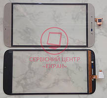 Umi Rome X / S-Tell M555 / Bravis a553 сенсорний екран, тачскрін золотий