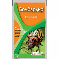 БОМБАРДИР АКВА 1 мл купить оптом инсектицид от колорадского жука, калифорнийская щитовка, трипси