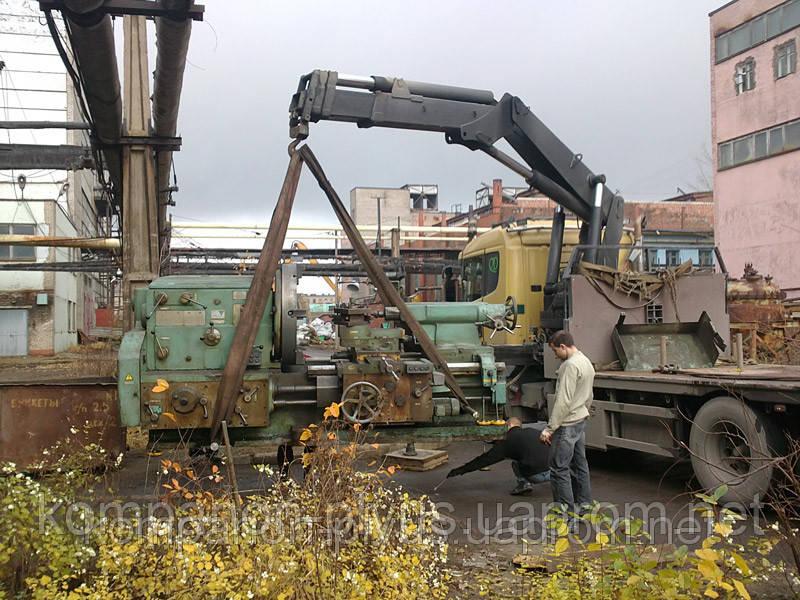 Перевозка станков и оборудования. Перевозки контейнеров и дачных домов.