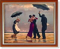 """Репродукция  современной картины Джека Веттриано (Великобритания)  """"Поющий дворецкий """""""