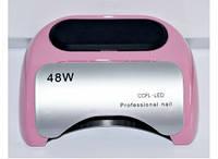 УФ LED+CCFL лампа для гель-лаков и геля 48W(розовая)