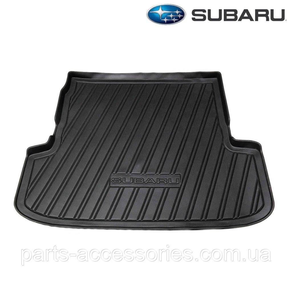 Subaru Legacy Wagon 2005-09 резиновый коврик в багажник Новый Оригинал