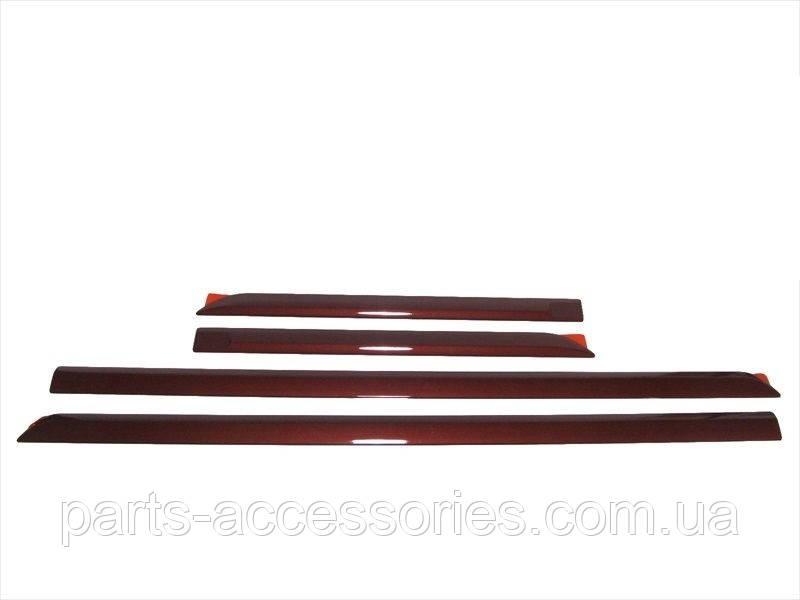 Subaru Legacy 2013-14 молдинги на двери цвет Venetian Red Pearl Новые Оригинал
