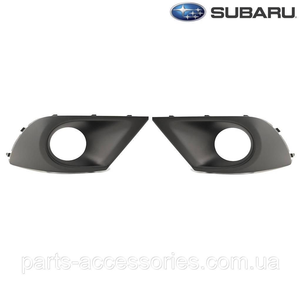 Subaru Legacy 2015-17 решетки в передний бампер левая правая Новые Оригинал