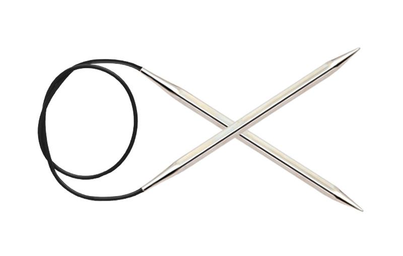 Спицы круговые  4.0 мм-80 см. Nova Cubics KnitPro