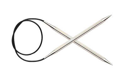 Спицы металические круговые  5.5 мм-100 см. Nova Cubics KnitPro