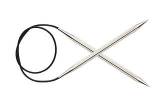 Спицы  металлические круговые  6.0 мм-100 см. Nova Cubics KnitPro