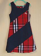 Платье детское хлопковое. Размер 134-140 (7-9 лет).