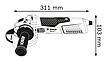 Угловая шлифмашина (болгарка) Bosch Professional GWS 19-125 CIST , фото 3