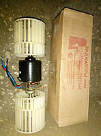Электродвигатель отопителя (мотор печки) Газель, Соболь, Бизнес, Next 12В с двумя крыльчатками ( АВТОРАД)