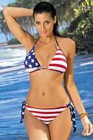 Раздельный купальник Марко с американским флагом М284