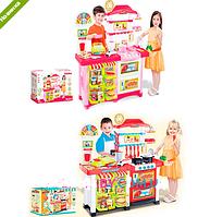 Кухня детская музыкальная игровой набор магазин 889-06