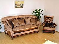 """Комплект мягкой мебели : диван раскладной седафлекс  """"Рамзес""""+ 2 кресла """"Фараон"""""""