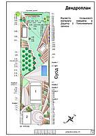 Разработка проекта ландшафта (базовый комплект)