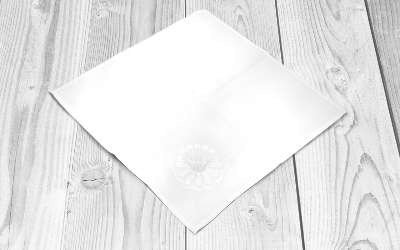 Вышитые салфетки (комплект из 4 шт.)
