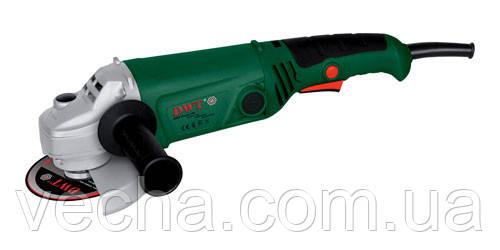 Болгарка DWT WS08-115Т (дополн. рукоятка, длин. ручка)
