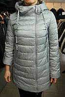 Куртка демисезонная CLASNA CW17C-083\серо-голубой